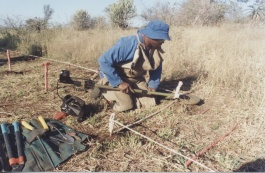 Photo: The Demining Camp