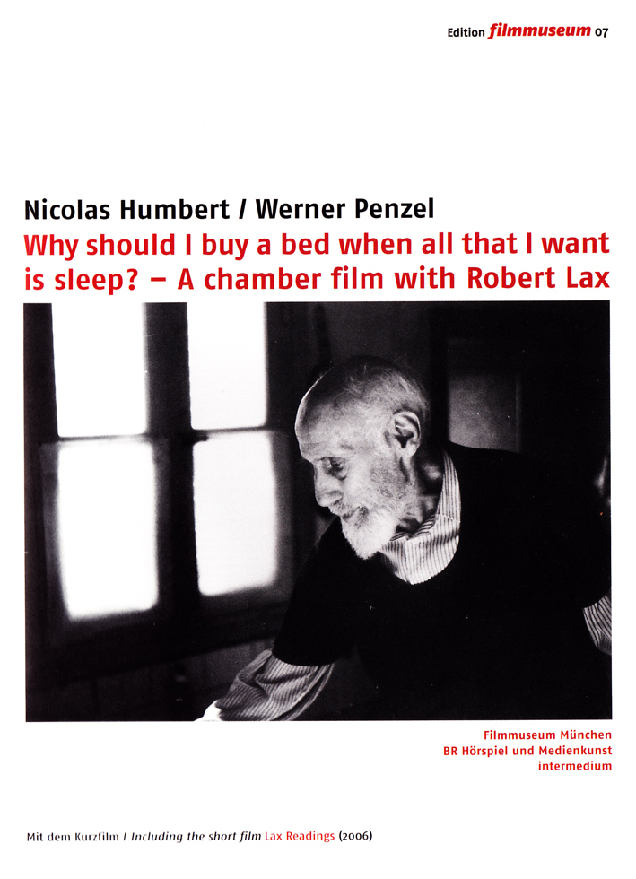 Why Should I Buy A Bed When All That I Want Is Sleep Dvd