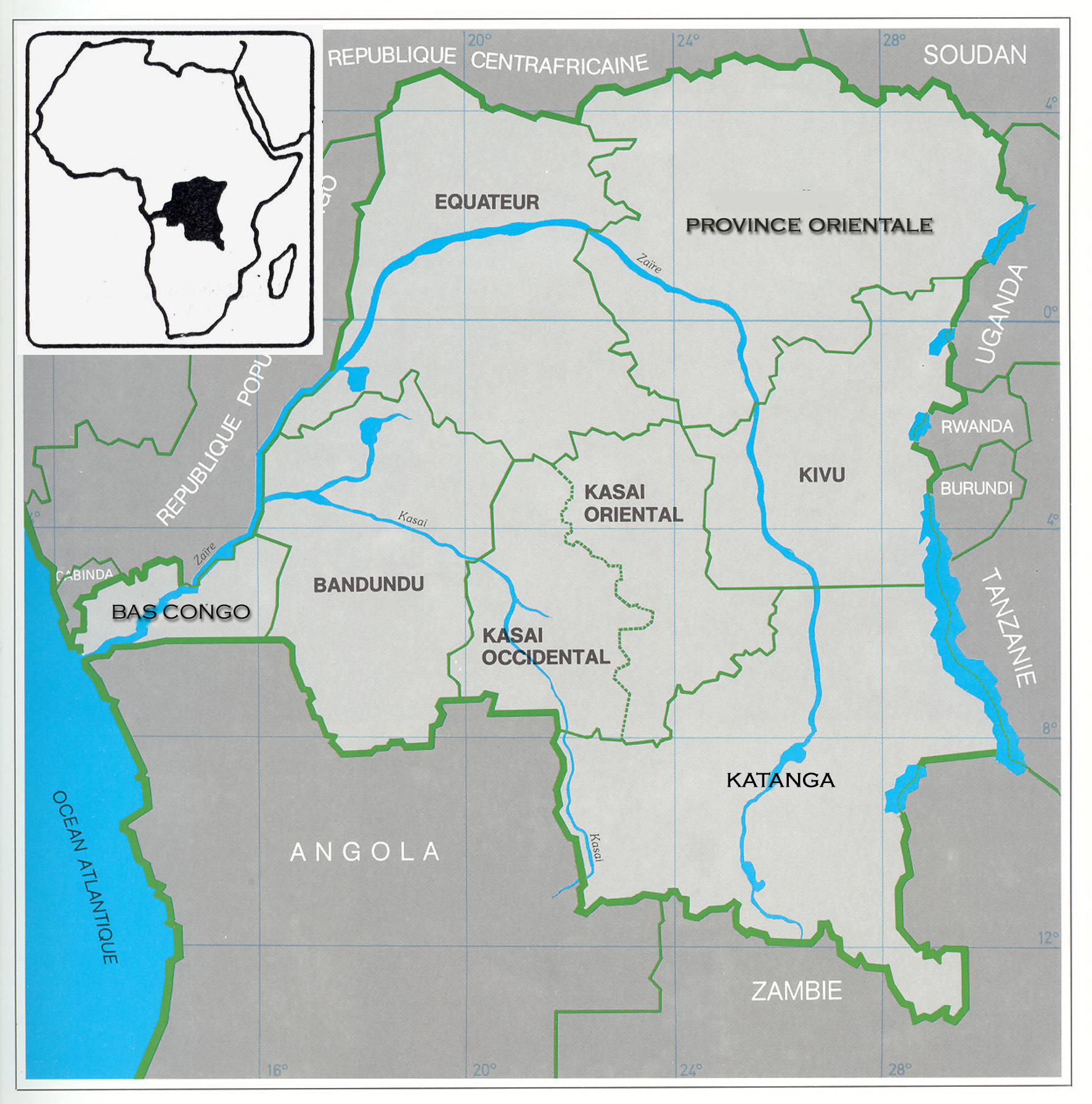 Map Of Africa Zaire River.Congo River Beyond Darkness Trigon Film Org