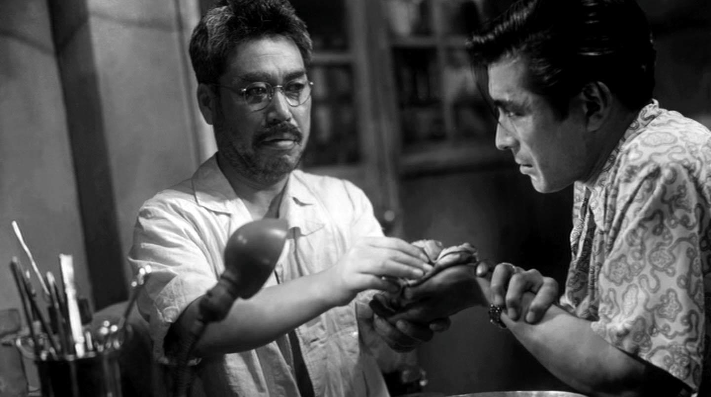 Drunken Angel Drunken Angel Yoidore tenshi by Akira KUROSAWA Watch in cinema
