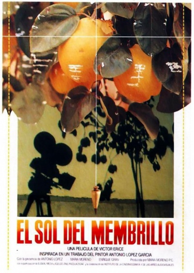 El sol del membrillo flyer