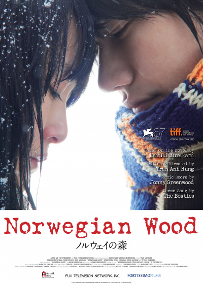 Norwegian Wood - Noruwei no mori flyer