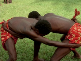 Photo: The Wrestlers -  M'Pongo