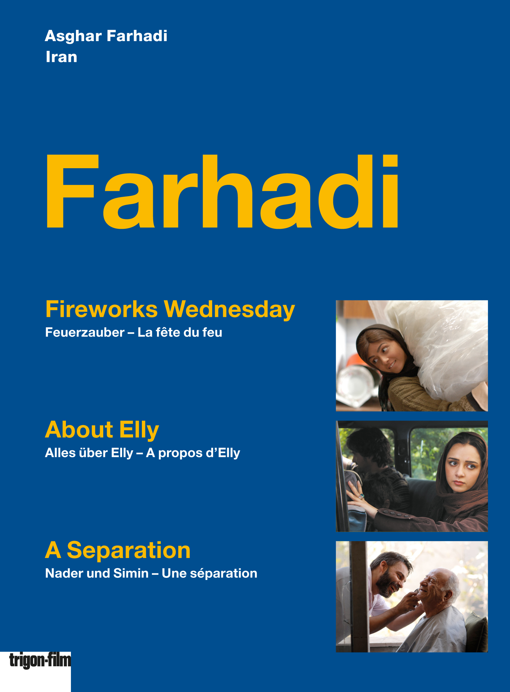 Asghar Farhadi Box