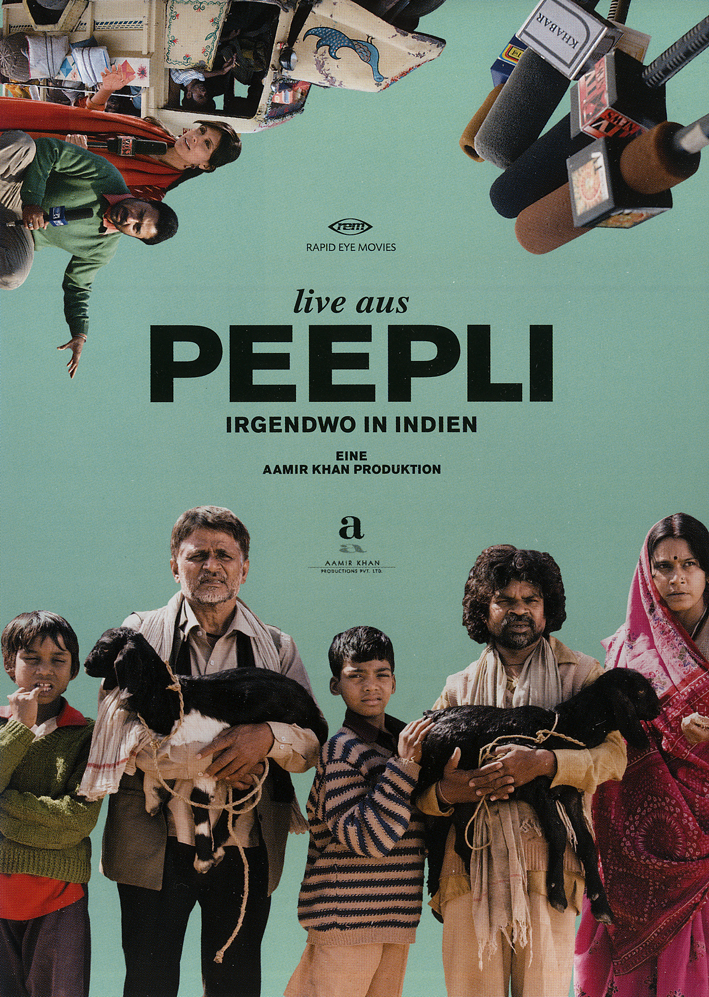 movie review peepli live Peepli live' is a satire that shows the reality behind media houses, politicians, bureaucrats and their apathetic approach towards problems but the script.