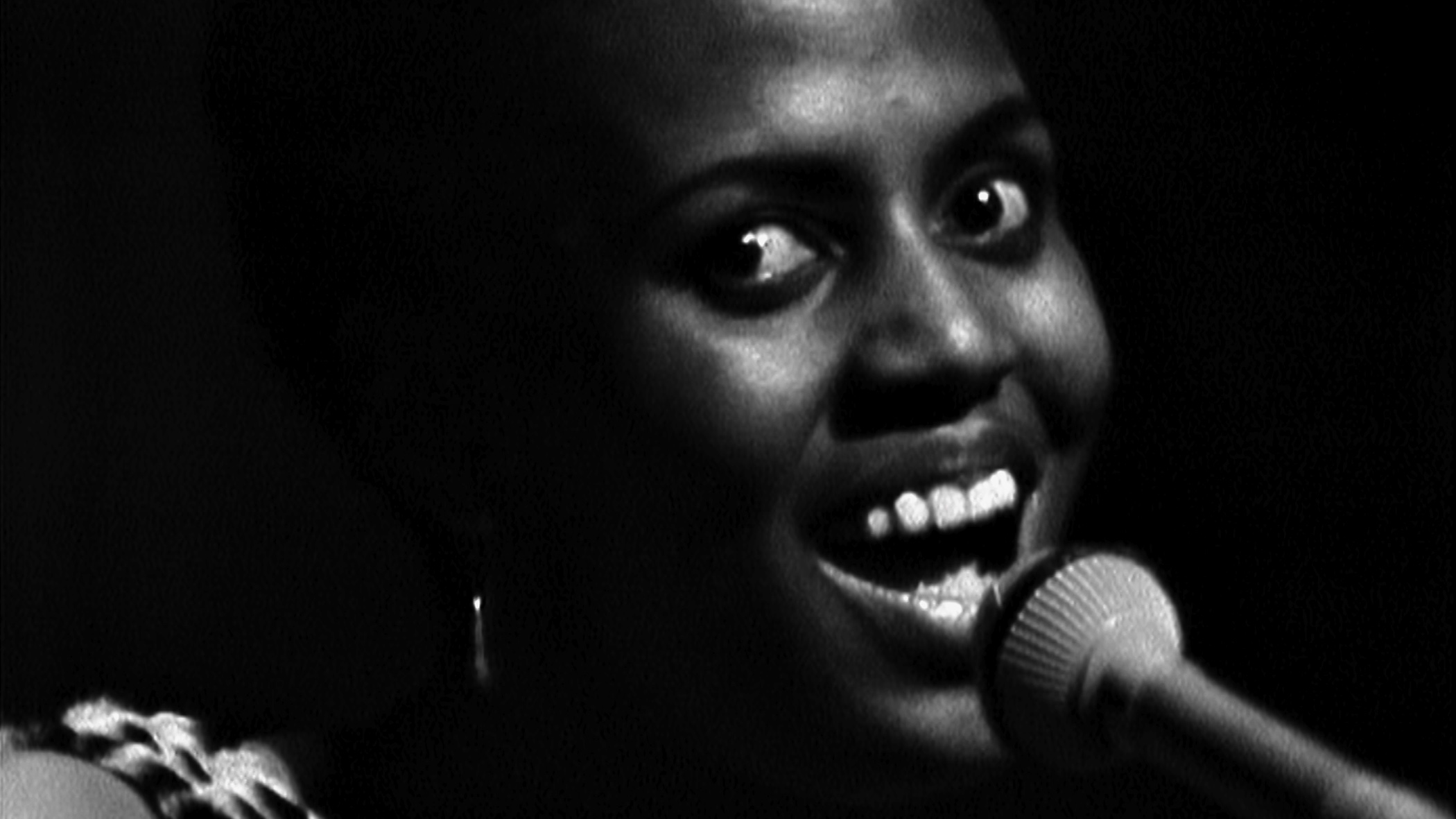 Miriam Makeba au Panaf d'Alger en 1969